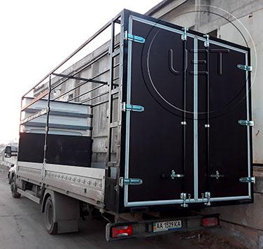 Ворота на грузовое авто